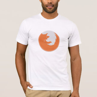 Firefox Orange Basic American Apparel T-Shirt