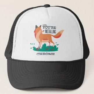Firefox Trucker Hat