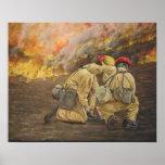 Fireline Friendship - Customized Print
