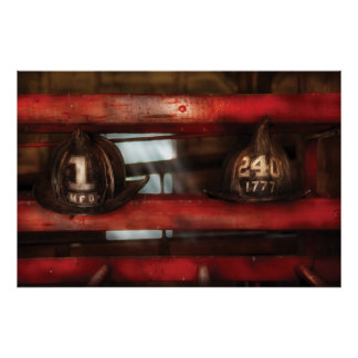 Fireman - A salute to the firefighter Poster