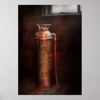 Fireman - Alert Poster