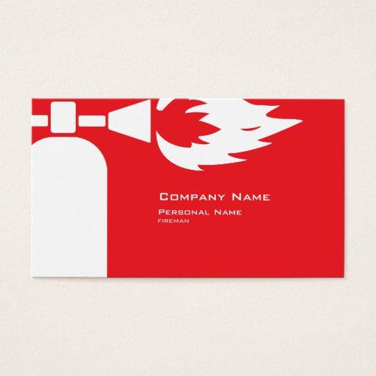 Fireman business card zazzle fireman business card colourmoves