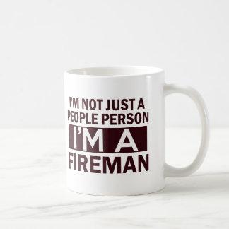 fireman design coffee mug