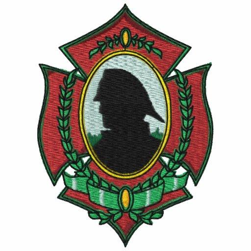 Fireman Embroidered Shirt