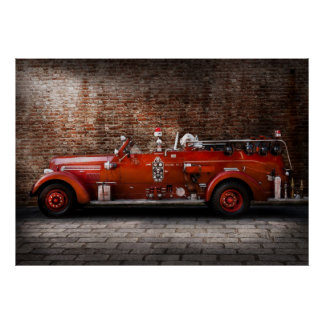 Fireman - FGP Engine No2 Poster