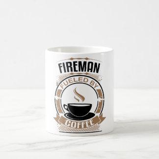 Fireman Fueled By Coffee Coffee Mug