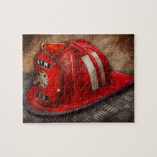 Fireman - Hat - A childhood dream Jigsaw Puzzle
