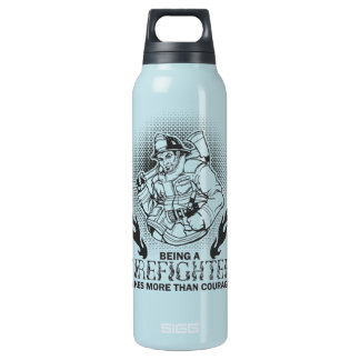 Fireman Insulated Water Bottle