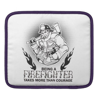 Fireman iPad Sleeve