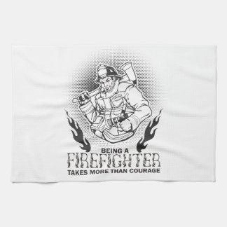 Fireman Kitchen Towel