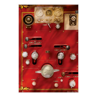 Fireman - Lever's and Valves Poster