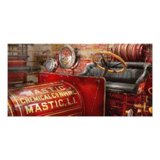 Fireman - Mastic chemical co Photo Greeting Card