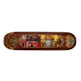 Fireman - Metuchen Fire Department Skate Board Deck
