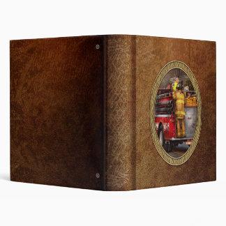 Fireman - Metuchen Fire Department Vinyl Binder