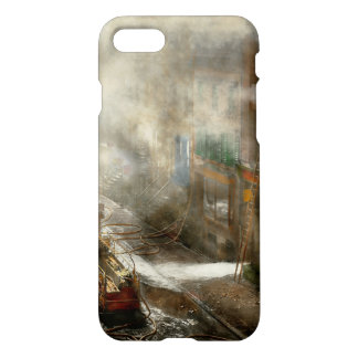 Fireman - New York NY - Big stink over ink 1915 iPhone 7 Case