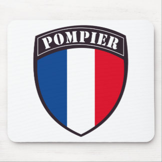 fireman of France Mouse Pad
