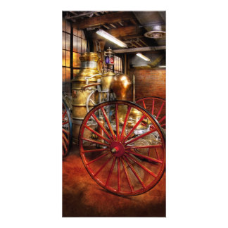 Fireman - One day, a long time ago Picture Card