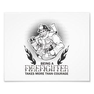 Fireman Photo Print