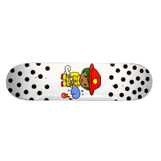 Fireman Skateboard Deck