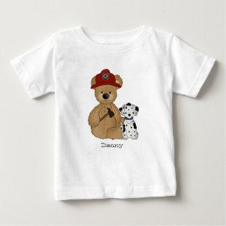 Fireman Teddy T-Shirt
