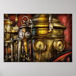 Fireman - The Steam Boiler Poster