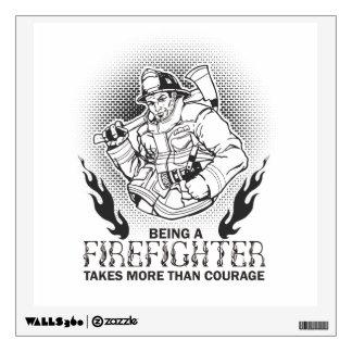 Fireman Wall Decal