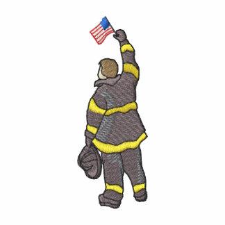 Fireman with Flag