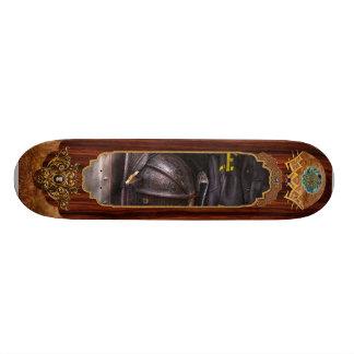 Fireman - Worn and used Custom Skateboard