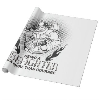 Fireman Wrapping Paper