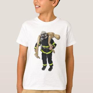 FiremanCarryPerson042911 T-Shirt