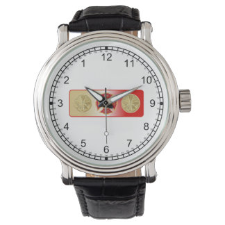 Fireman's 4 Trumpet Shield Watch