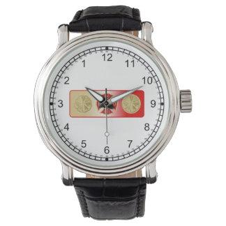 Fireman's 4 Trumpet Shield Wristwatch
