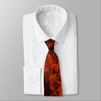 Fireman's Flame Neck Tie