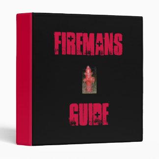 Firemans, Guide-Binder 3 Ring Binders