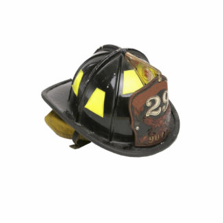 Fireman's helmet keychain photo sculpture keychain