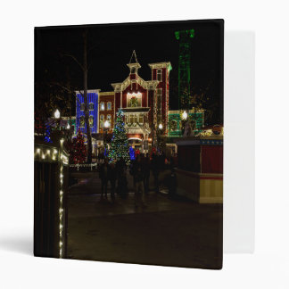 Firemans Landing Christmas Binder