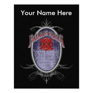 Firemans Prayer_ Letterhead Design