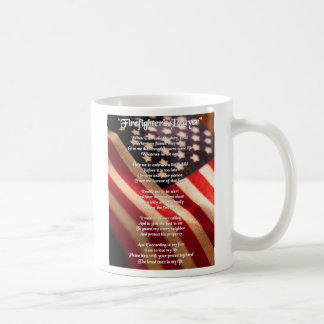 Firemans Prayer Mug
