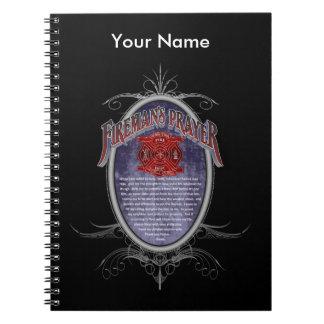 Firemans Prayer_ Spiral Note Book