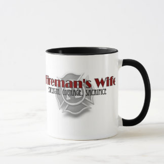 """Fireman's Wife"" Coffee Mug"