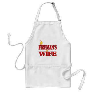 Fireman's Wife Standard Apron