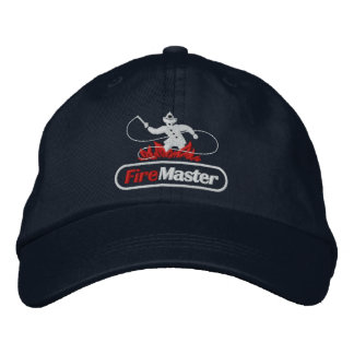FireMaster Adjustable Embroidered Basic Cap Embroidered Baseball Cap