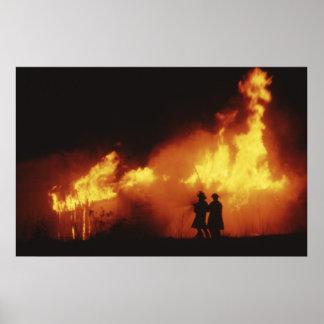 Firemen & Fire - Poster