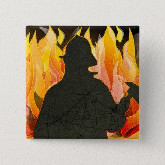 Firemen, Firewomen, Firefighter Buttons