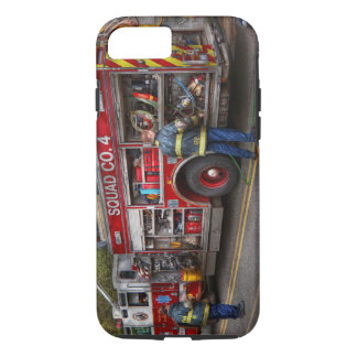 Firemen - The modern fire truck Case-Mate iPhone Case