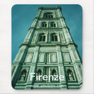 Firenze Campanile View Mouse Pad