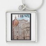 Firenze Duomo Keychains