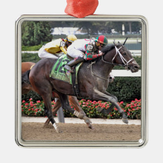 Firenze Fire Irad Ortiz Jr Metal Ornament