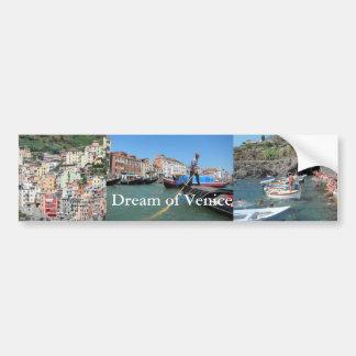 Firenze Florence Cathedral Facade Bumper Sticker