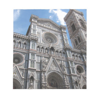 Firenze Florence Cathedral Facade Notepads